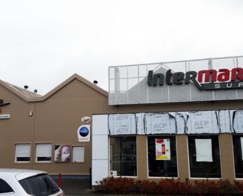 Obiekty handlowe Intermarche