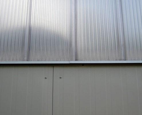 Ściana z płyty warstwowej
