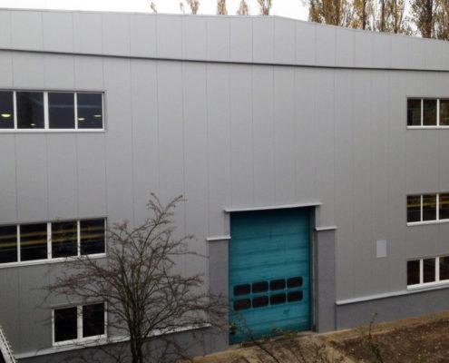 Modernizacja obiektu przemysłowego